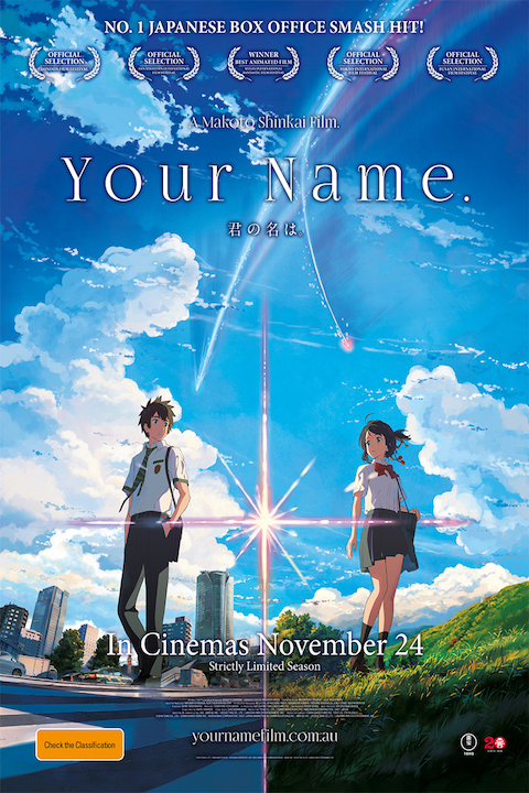 Your Name (2016) Hindi Dubbed 480p | 720p