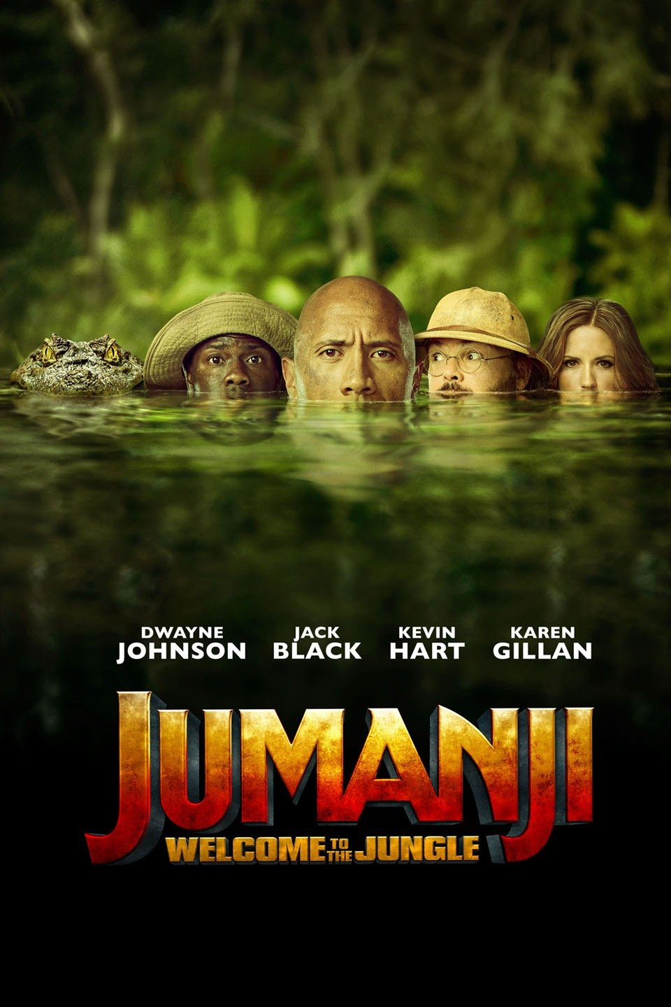 Download Jumanji: Welcome to the Jungle (2017) Full Movie In Hindi-English-Tamil-Telugu (Multi Audio) Bluray 480p [400MB] | 720p [1.2GB] | 1080p [2.7GB]