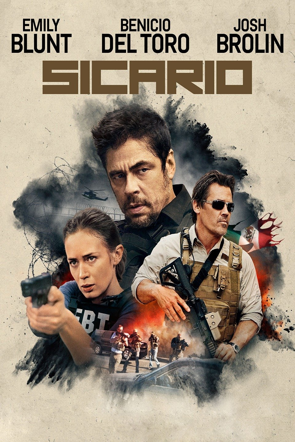 Download Sicario (2015) Dual Audio (Hindi-English) 480p | 720p
